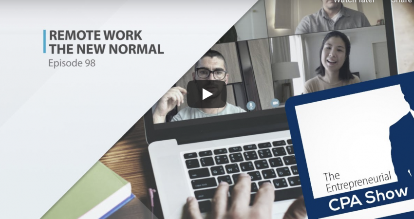 Video Podcast: Remote Working - The New Normal